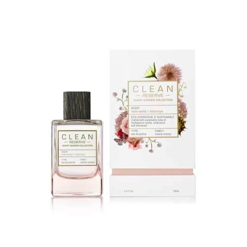 CLEAN AVANT Garden Nude Santal & Heliotrope EDP 100 ml