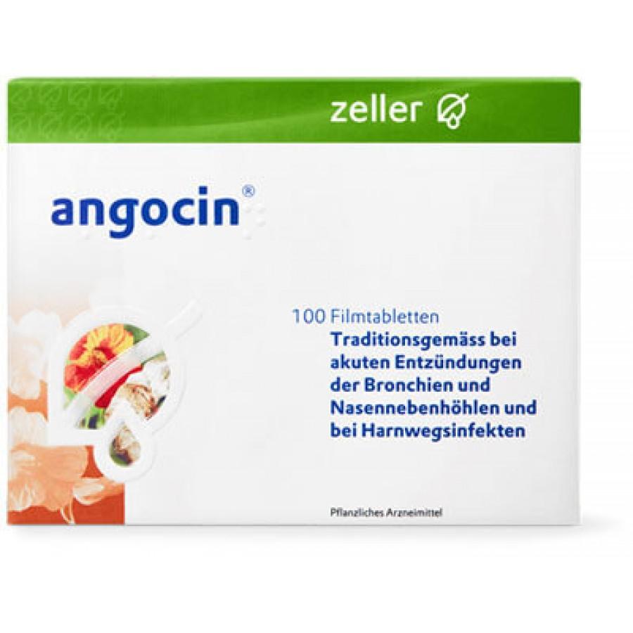 Hier sehen Sie den Artikel ANGOCIN Filmtabl 100 Stk aus der Kategorie Medikamente der Liste D. Dieser Artikel ist erhältlich bei unseredrogerie.ch