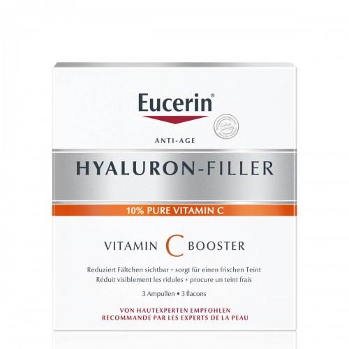 EUCERIN HYALURON-FILLER Tag Vitamin C Booster 3 x 8 ml