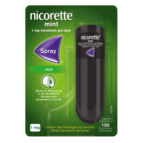 NICORETTE Mint Spray 150 Dos