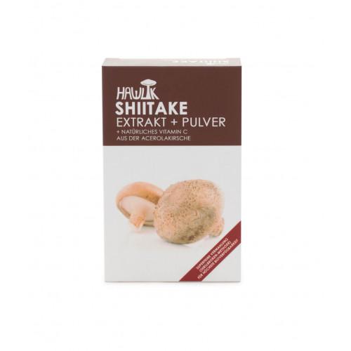 HAWLIK Shiitake Extrakt + Pulver Kaps 60 Stk