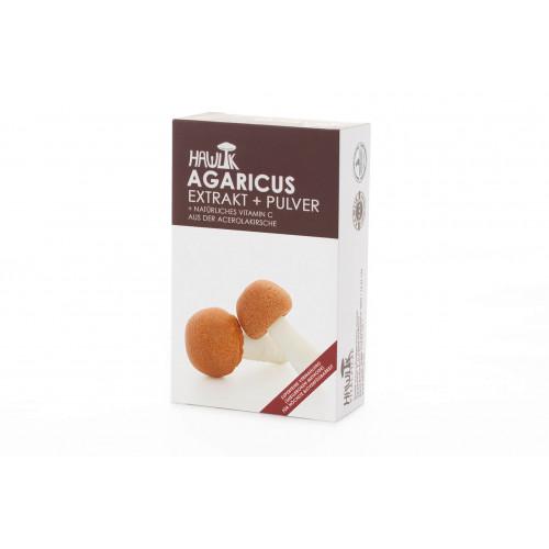 HAWLIK Agaricus Extrakt + Pulver Kaps 60 Stk