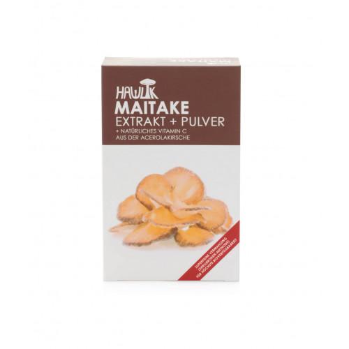 HAWLIK Maitake Extrakt + Pulver Kaps 120 Stk
