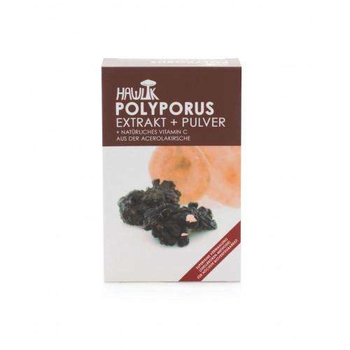 HAWLIK Polyporus Extrakt + Pulver Kaps 120 Stk