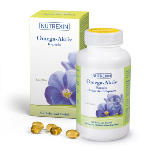 NUTREXIN Omega - Aktiv Kaps 120 Stk