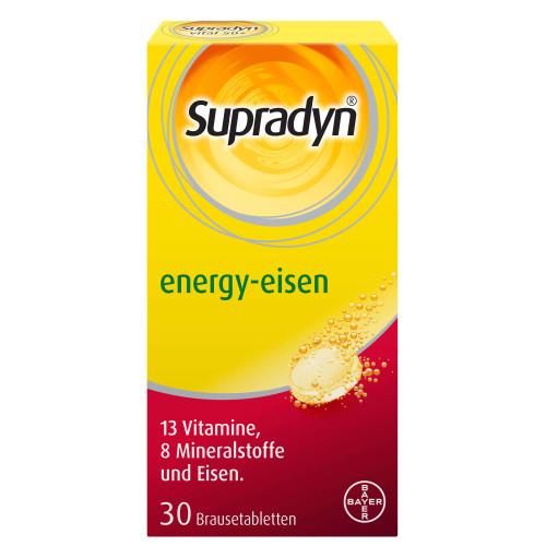 SUPRADYN energy eisen Brausetabl 30 Stk
