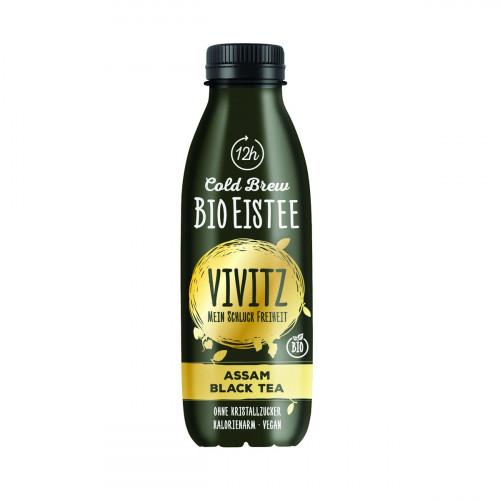 VIVITZ Bio Eistee Cold Brew Bla Tea 0.5 lt