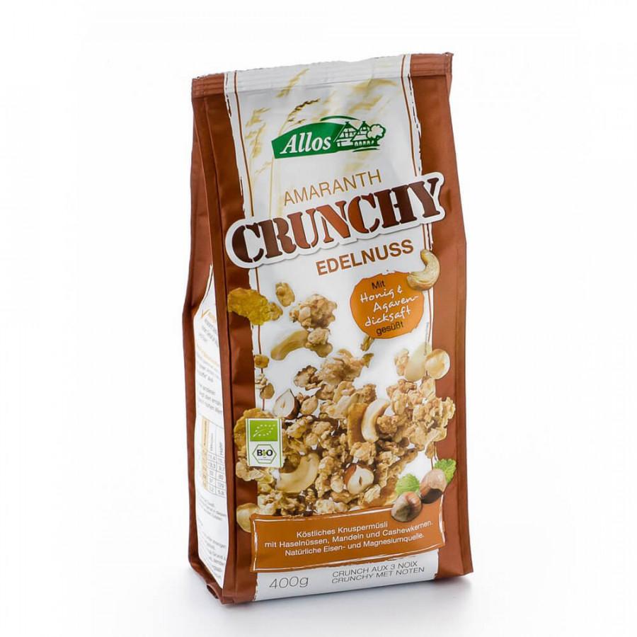 ALLOS Amaranth Crunchy Edelnuss Btl 400 g