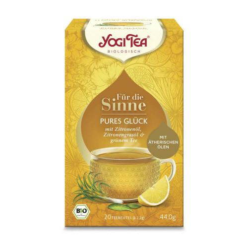 YOGI TEA Pures Glück 20 Btl 2.2 g