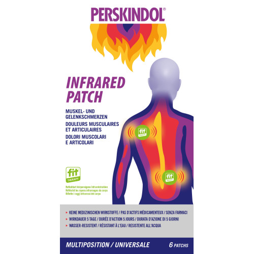 PERSKINDOL Infrared Patch Multiposition 6 Stk