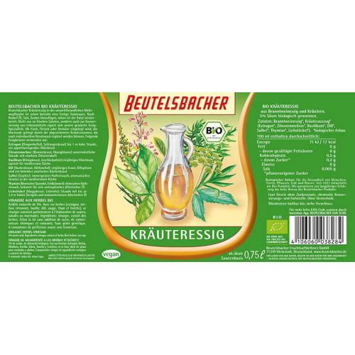 BEUTELSBACHER Kräuteressig Fl 750 ml