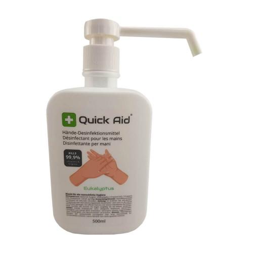 QUICK AID Hände-Desinfektionsmittel Fl 500 ml