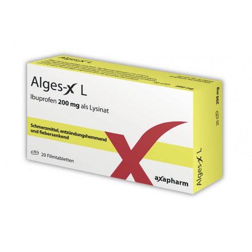 ALGES-X L Filmtabl 200 mg 20 Stk
