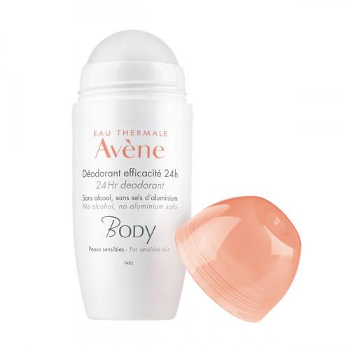 AVENE Body Deodorant Roll on 24h 50 ml