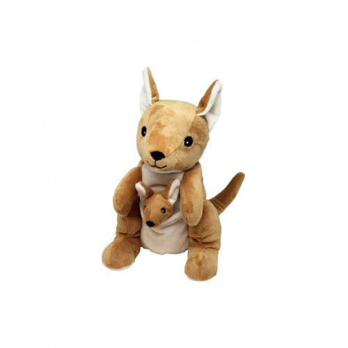 WARMIES Wärme-Stofftier Känguru