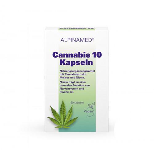 ALPINAMED Cannabis 10 Kaps 60 Stk