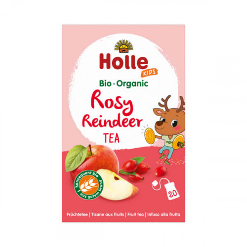 HOLLE Rosy Reindeer Früchtetee Bio 20 x 2.2 g