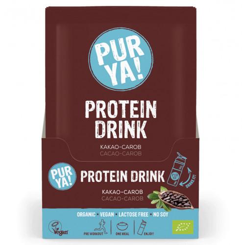 PURYA! Vegan Proteindrink Cacao-Car Bio 30 g