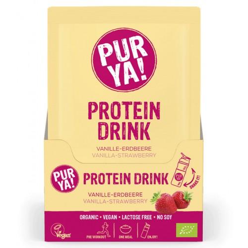 PURYA! Vegan Proteindrink Vani Erdb Bio 30 g
