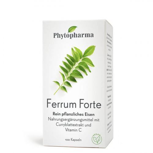 PHYTOPHARMA Ferrum Forte Kaps Ds 100 Stk