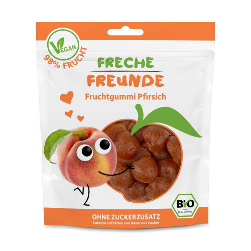 FRECHE FREUNDE Fruchtgummi Pfirsich Btl 30 g