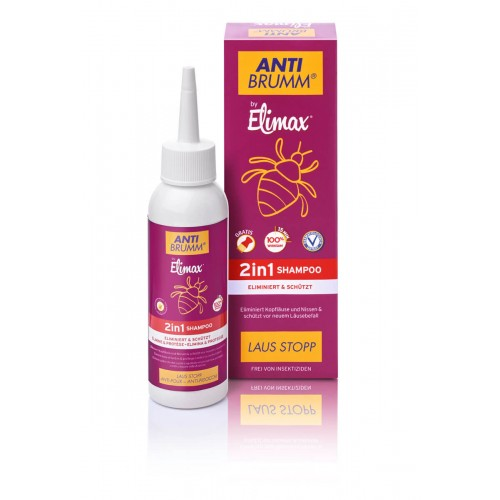 ANTI BRUMM BY ELIMAX Laus Stopp 2in1 Shamp 100 ml