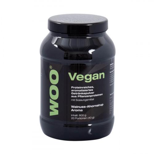 WOO Vegan Protein Plv Walnuss Ahornsirup Ds 800 g