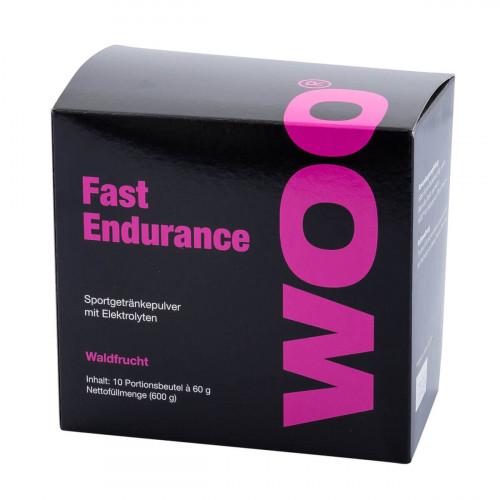 WOO Fast Endurance Plv Waldfrucht 10 Btl 60 g
