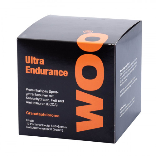 WOO Ultra Endurance Plv Granatapfel 12 Ds 50 g