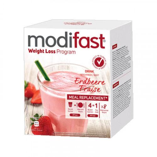MODIFAST Programm Drink Erdbeere 8 x 55 g