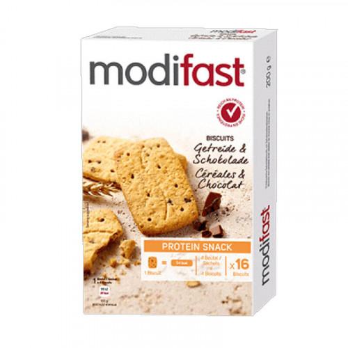 MODIFAST Protein Snack Getreidebisc Schok 4 x 50 g