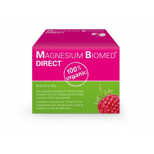 MAGNESIUM BIOMED direct Gran Stick 60 Stk