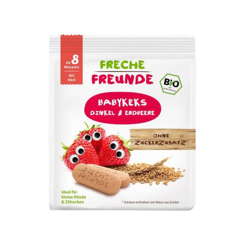 FRECHE FREUNDE Babykekse Dinkel Erdbeere 100 g