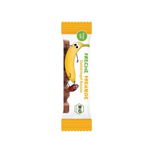 FRECHE FREUNDE Dattelriegel Banane 6 x 17 g