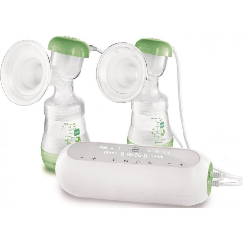 MAM 2in1 Doppelmilchpumpe elektrisch und manuell
