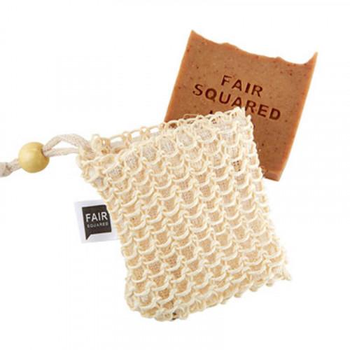 FAIR SQUARED Peeling Soap-Bag