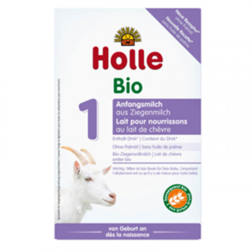 HOLLE Bio-Anfangsmilch 1 aus Ziegenmilch 400 g