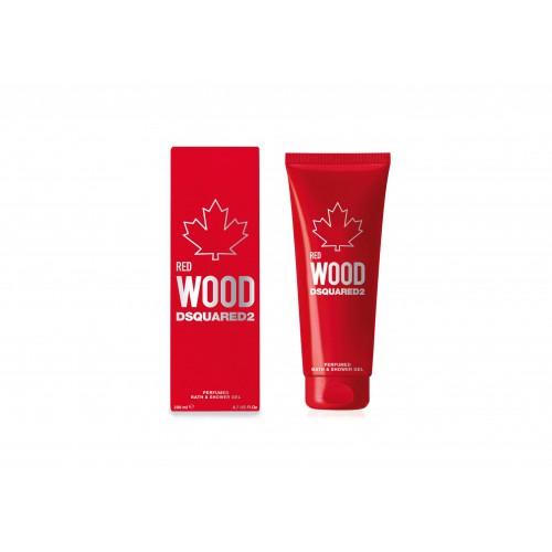DSQUARED² WOOD RED W Perf Bath & Shower Gel 200 ml