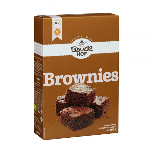 BAUCKHOF Backmischung Brownies glutenfrei 300 g