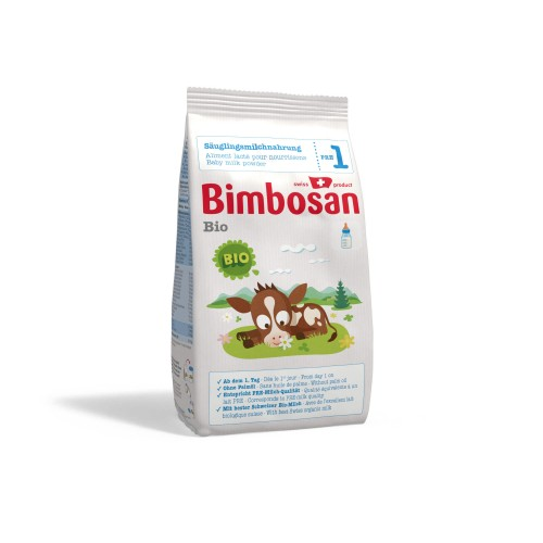 BIMBOSAN Bio 1 Säuglingsmilch refill 400 g