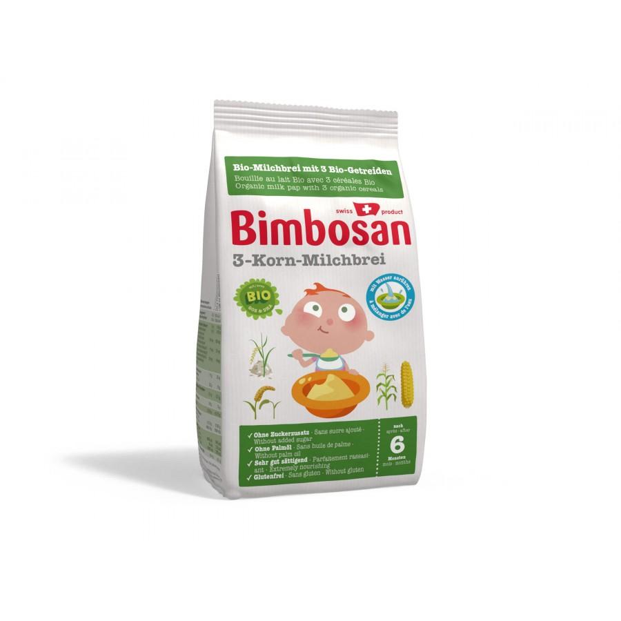 BIMBOSAN Bio-3-Korn-Milchbrei Btl 280 g