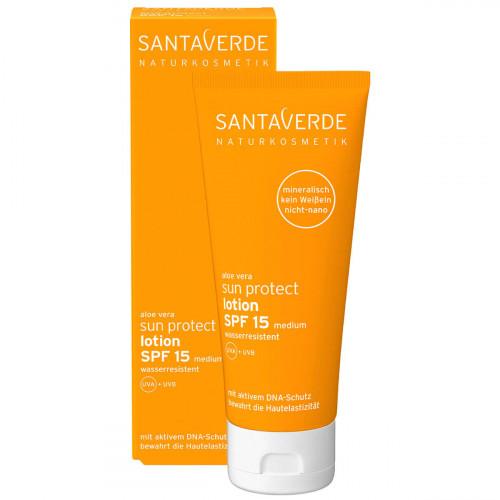 SANTAVERDE sun protect lotion SPF 15 100 ml