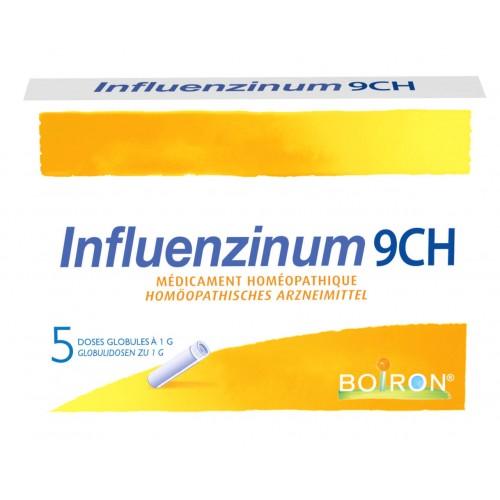BOIRON Influenzinum Glob CH 9 2020/2021 5 x 1 Dos