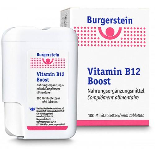 BURGERSTEIN Vitamin B12 Boost Minitabl 100 Stk
