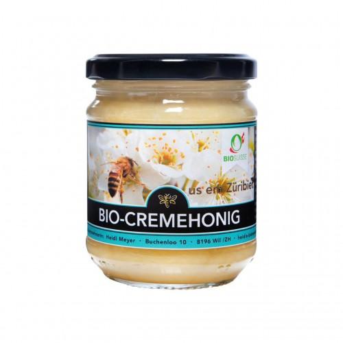 BIOFARM Crèmehonig CH Knospe Glas 250 g
