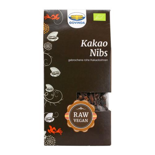 GOVINDA Kakao-Nibs Knabberspass 100 g