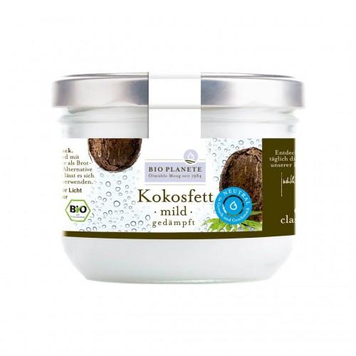 BIO PLANETE Kokosfett mild gedämpft neu Fl 950 ml