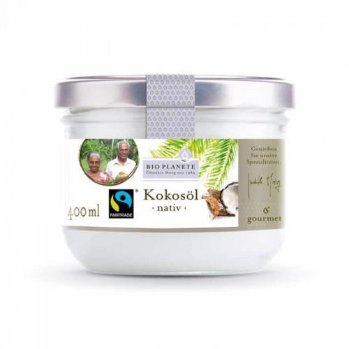 BIO PLANETE Kokosöl nativ Flasche 400 ml