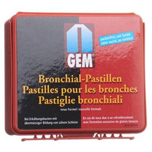 GEM Bronchialpastillen mit Sorbit neue Form Dose 36 Stk