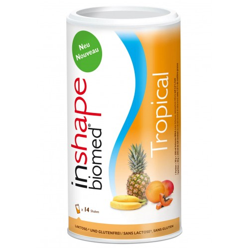 INSHAPE Biomed PulverTropical Dose 420 g
